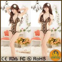 Buy cheap Hot Sexy Lingerie Babydoll Chemise Leopard Erotic Lingerie for Women product