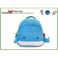 China Cute Cartoon Whale Children School Bags , Animal Backpacks For Kids on sale