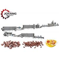 Buy cheap Fully Automatic Corn Chip Making Machine , Breakfast Cereal Processing Line product