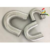 Buy cheap Ventilation System Fireproof Flexible Semi Rigid Aluminum Duct Pipe from Wholesalers