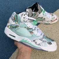 Buy cheap wings Air Jordan 5 Wings AJ5 with green nike shoes for flat feet product