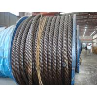 Multilayer Steel Non Rotating 18x19 Wire Rope Warrington Type for Mobile Cranes