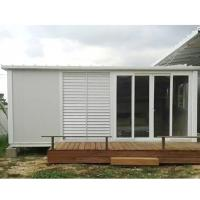 Buy cheap construction site flat pack container house foldable container home product