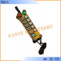 Buy cheap Pendant Industrial Remote Controls Wireless , F24-10 S/D Transmitter product