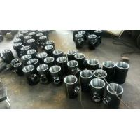 Quality Seamless Reducing Tee Pipe Fitting High Pressure Black Steel Pipe Fittings for sale