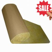 Buy cheap Glass Wool Insulation Blanket with Kraft Paper Facing product