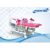 Quality ABS Head Board Electric Gynecological Chair For Maternity , Motorized Labor Delivery Bed for sale