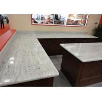 Buy cheap Gray White Indian Granite Kitchen Counter Tops , Household Granite Kitchen Worktops product