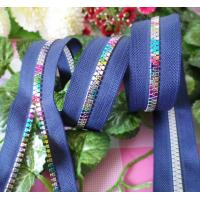 Buy cheap #8 Rainbow Teeth Resin Zipper , Vilson Zipper For Garment / Bags / Home Textile product
