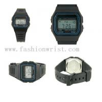 China Plastic Watchband LED Sports Watch with Alarm Chronograph-LW206 on sale