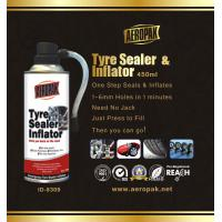 Buy cheap Auto Emergency Tyre Repair Quick Tyre Puncture Repair Tinplate Can from wholesalers
