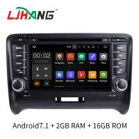 Buy cheap Android 7.1 Car Radio Audi Car DVD Player With Wifi BT Gps AUX Video product