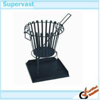 China Eco - Friendly Patio Furniture Accessories Outdoor Welded steel fire basket on sale