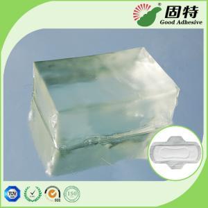 Buy cheap Light Transparent PSA Hot Melt Adhesive Block For Sanitary Napkin Adult Diaper product