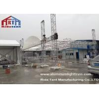 Buy cheap Silver Aluminum Stage Light Truss , Truss Rigging Equipment For Wedding Party product