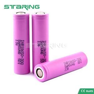 Buy cheap Original Samsung 30Q INR 18650 3000mAh 3.6V rechargeable ecig mod, Samsung 18650 30Q battery product