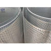 Buy cheap Round Hole Perforated Metal Sheet Punching Mesh Stainless Steel product