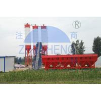 Buy cheap Accurate Weighing Belt Type HZS60 Concrete Batching Plant Durable One Year from wholesalers