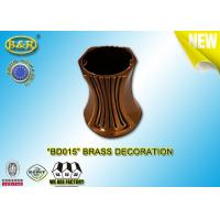 China Brass Decoration Bronze Vase Material Copper Alloy 10cm Ref.BD015 Cemetery Decorations on sale