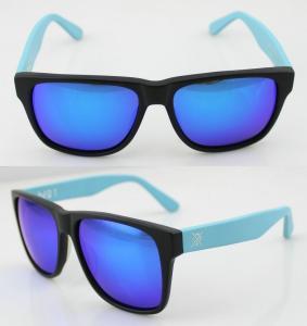 Buy cheap Fashion Custom Blue Acetate Frame Sunglasses , Vogue Sun Glasses product