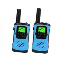 China Long Range Walkie Talkie Toy Voice Activated With Green Backlit LCD Display on sale