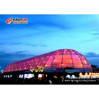 Buy cheap Durable Clear Polygon Roof Canopy Event Tent , Enclosed Custom Canopy Tents from Wholesalers