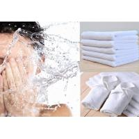 China White Towel Small Square 30*30cm Cotton Solid White Soft Absorbent Hand Towel Face Towel on sale