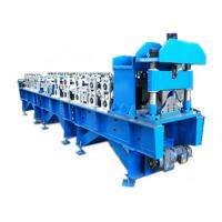 Buy cheap Steel Ridge Cap Roll Forming Machine , Metal Roofing Roll Former For Construction product