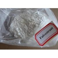 Buy cheap White Steroid Hormones Powder Fulvestrant 129453-61-8 For Muscle Growth product