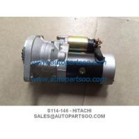 Buy cheap S114-146 124450-77010 - Hitachi Starters Yanmar Tractor Combine Harvester 12V 15T 1.3W product