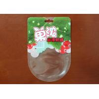 China Thickness 0.1MM Candy Packaging Bags , Hawthorn Taste Clear Plastic Candy Bags on sale