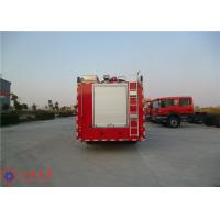 Quality Departure Angle 14° Commercial Fire Trucks Max Torque 1190N.M With Manual Gearbox for sale