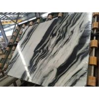 Buy cheap Luxury Italian Marble Slabs , Panda White Marble Slab With Gray Lines product
