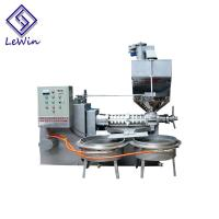 Buy cheap Alloy Steel Peanut Oil Press Machine , Screw Cooking Oil Pressing Machine Strong Performance product