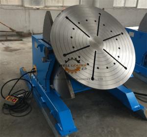 China 2 Ton Tilting Welding Table , Vessel Head Welding Positioner Turntable on sale