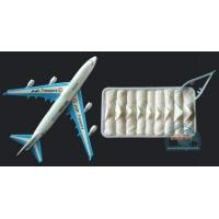 China COTTON TOWEL SERIES hot and cold disposable cotton towel for airline.97 on sale
