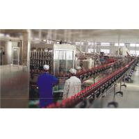 Production line for juice or tea drink