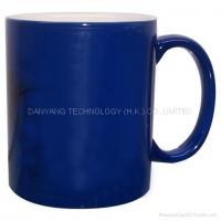 Buy cheap Full Blue Color Changing Coating Mugs CM004-3 product
