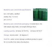Organic Wild Blueberry Juice Concentrate