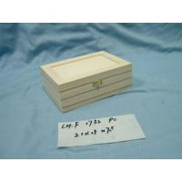 WOODEN BOXS Wooden BoxModel:CH.F1732 PCSSpecification:21x15x H7.5 cm Model :CH.F1732 PCS  Specification :21x15x H7.5 cm