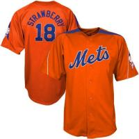 Buy cheap #18 Darryl Strawberry Orange Laser Cooperstown mlb Jerseys product