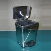 Trash Can Polished Steel(FE20S)