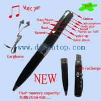 China UP-008---MP3 Music pen on sale