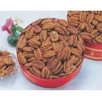 Buy cheap Toasted and Salted Mammoth Pecan Halves - Gift Tins product