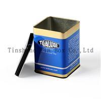Buy cheap Food packing boxes Tea Tin(ZS087A1) product