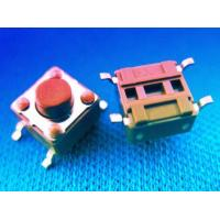 Buy cheap Switch Connector Socket Type Connectors / (TSW66-VxxxR-xxx)Tactile switch smt type 6x6 product