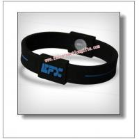 Buy cheap energy silicone bracelets from Wholesalers