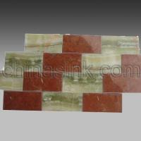 Buy cheap green onyx and red alicante subway tile 11 Home > Products > stone mosaics > stone subway tile > green onyx and red alicante subway tile 11 product