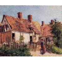 Buy cheap Impressionist(3830) Old_Houses_at_Eragny product