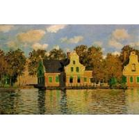 Buy cheap Impressionist(3830) Houses_on_the_Zaan_River_at_Zaandam product